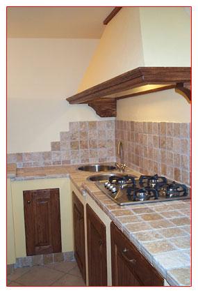 cucine - f.b. arredamenti s.n.c. di rossano e roberto becheroni - Mattonelle 10x10 Cucina In Muratura